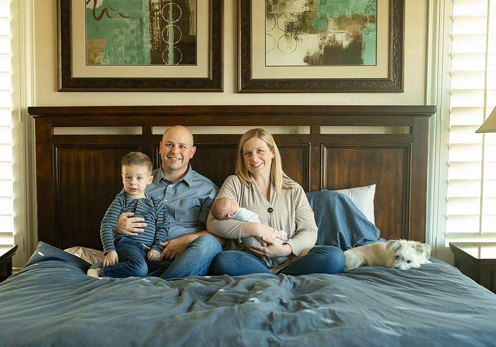 Brandon Hebert & Family